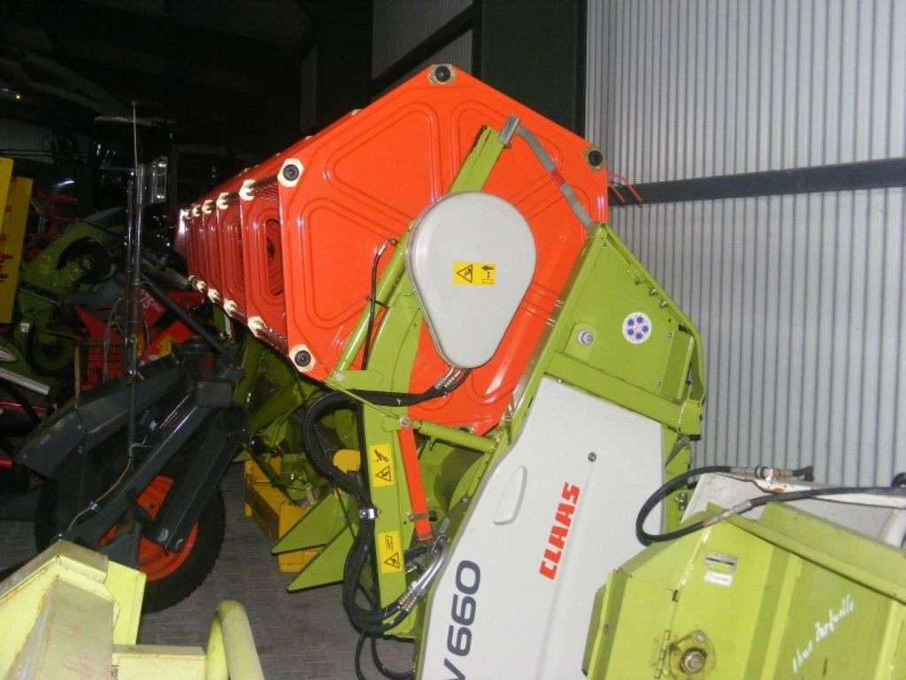 CLAAS V 660 reaper - Photo 4