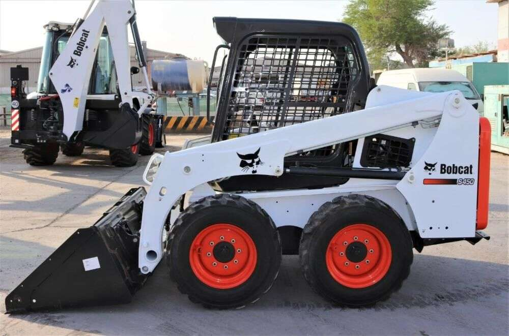 BOBCAT S450 skid steer for sale by auction